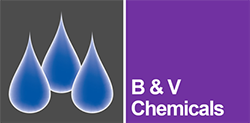 B and V Chemicals logo