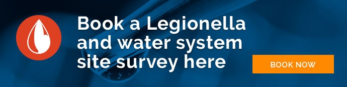 Legionella and water system site survey